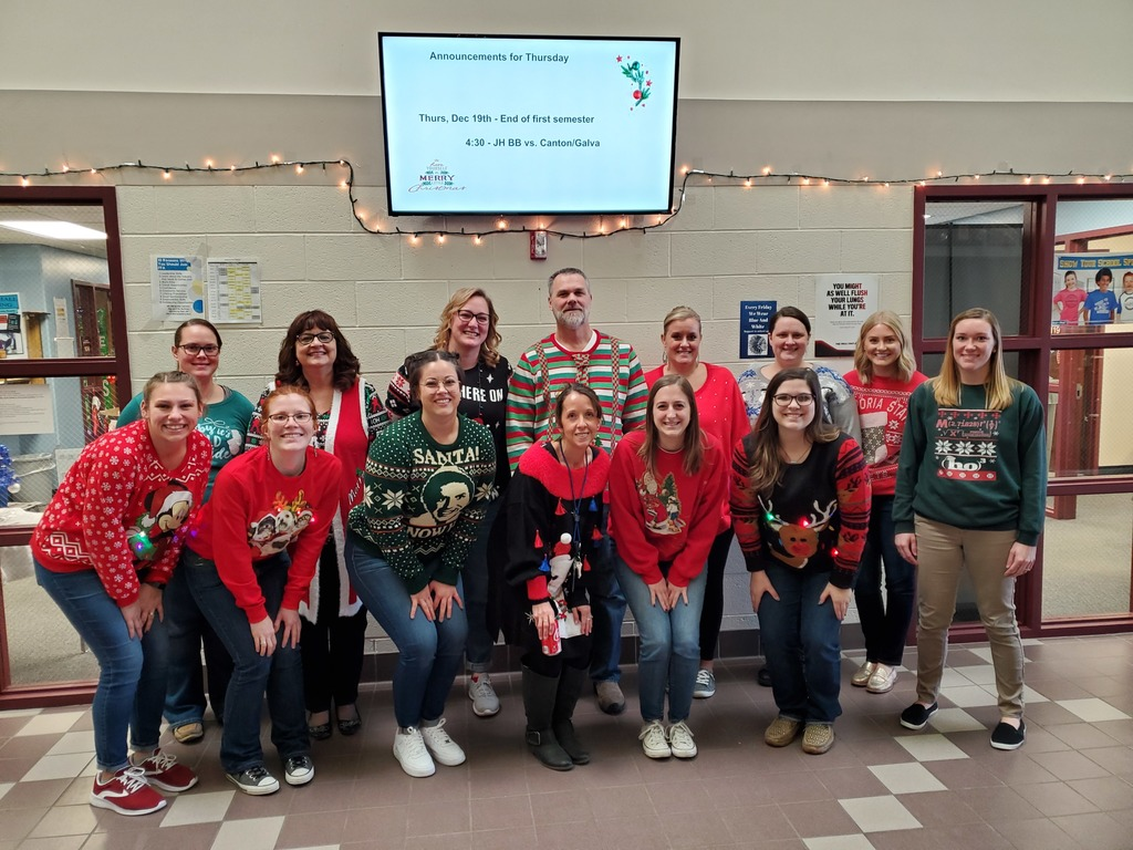 Staff Ugly Sweaters