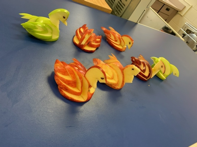 Apple Swans