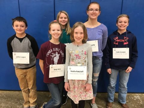 PBES & PBMS County Spelling Bee