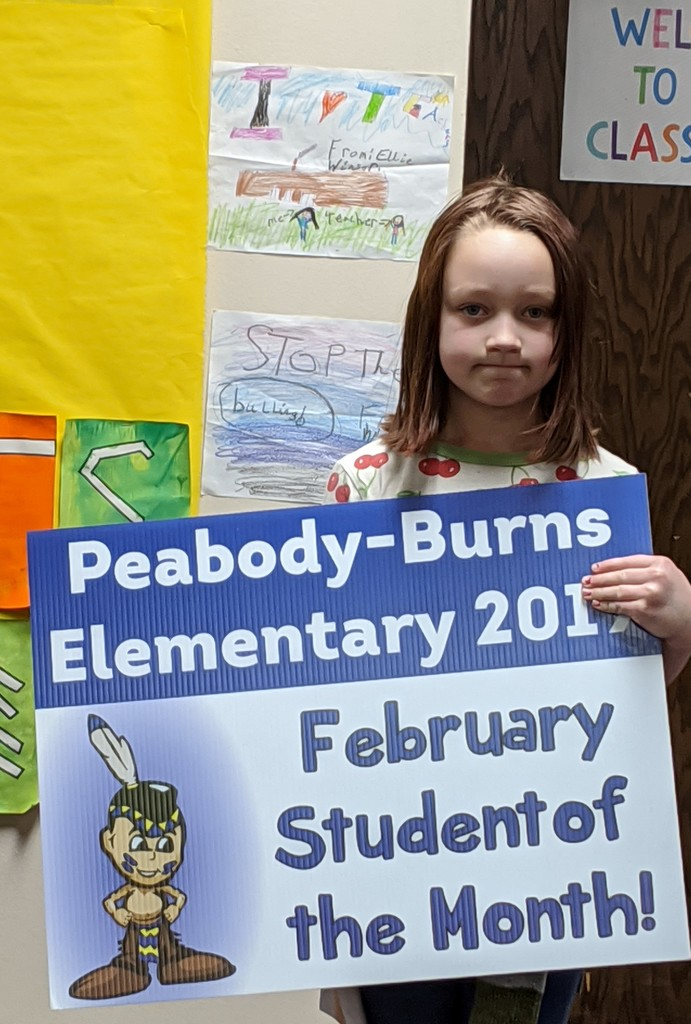 Student of the Month - Astrid